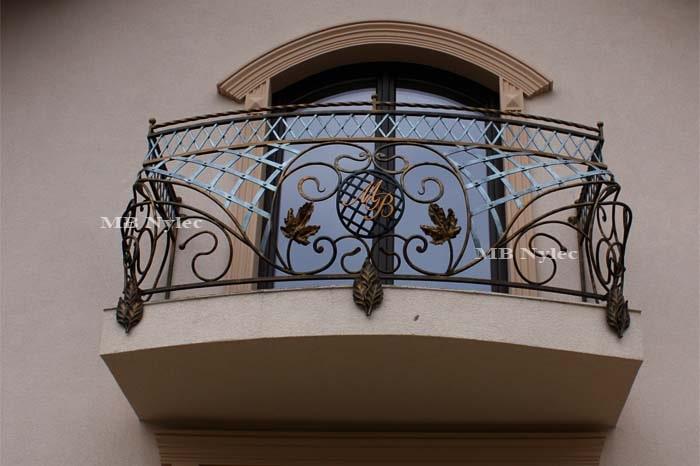 Balustrada kuta balkonowa-min