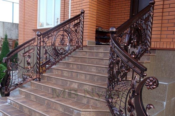 balustrada kowalska - schodowa