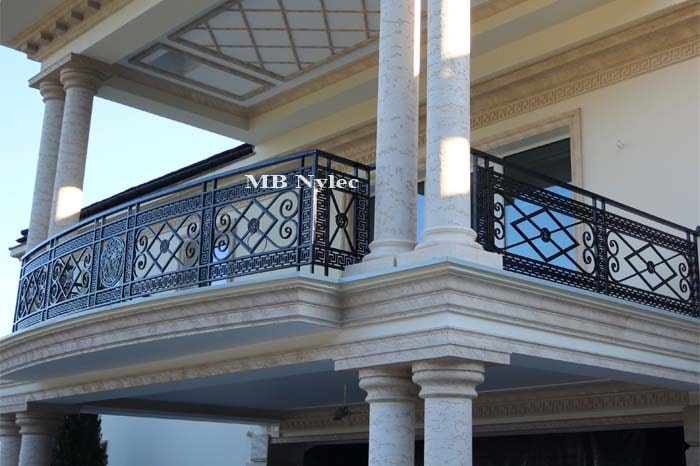 balustrada kuta balkonowa versace MB Nylec-min