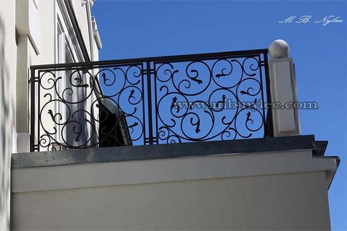 balustrada kuta balkonowa zewnętrzna-min