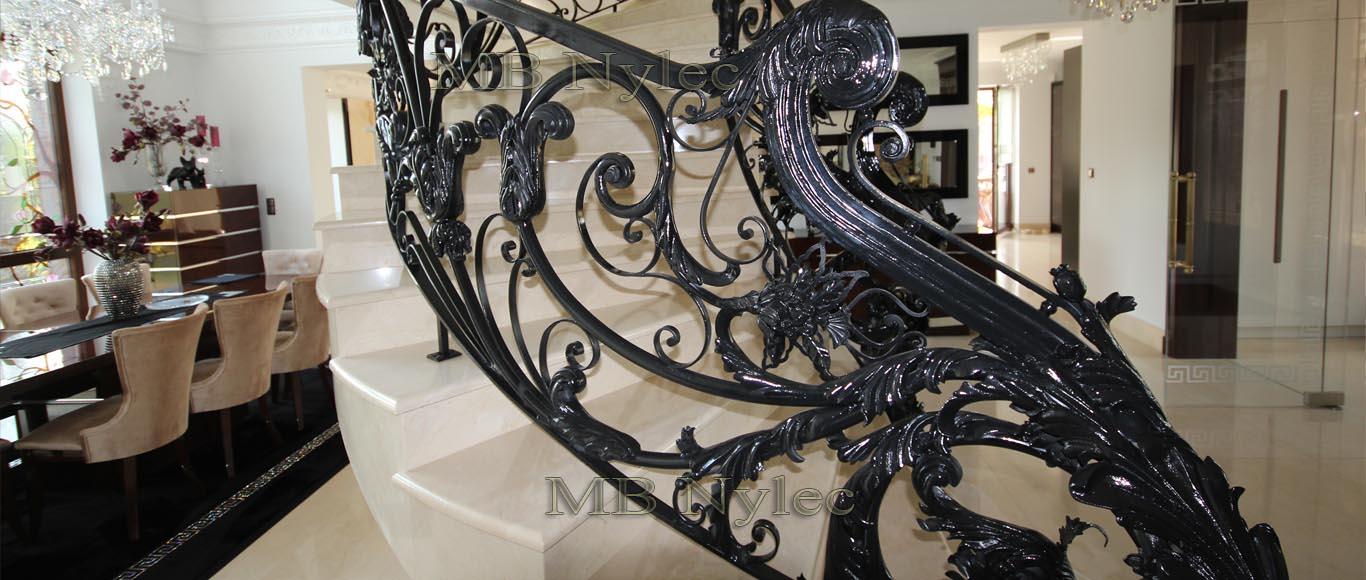balustrada kuta - metaloplastyka MB Nylec