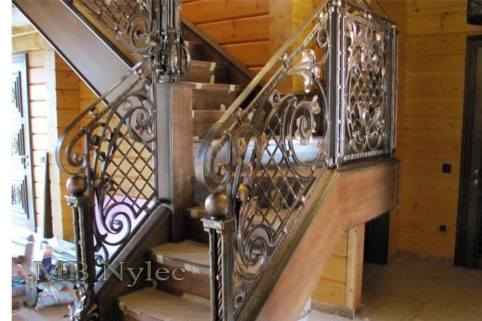 ekskluzywna balustrada schodowa