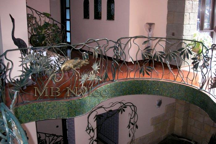 kuta balustrada z czaplami