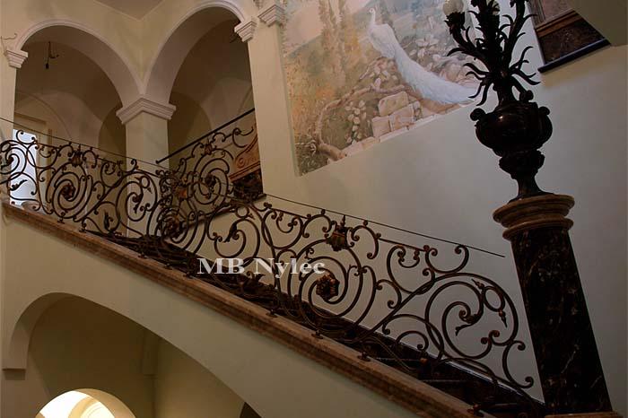 luksusowa balustrada schodowa