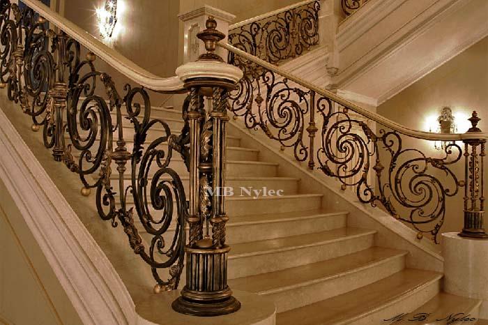 unikalna balustrada kuta schodowa